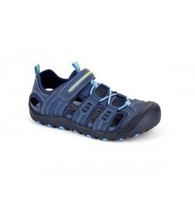 Sandalias denim azul