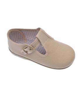 Lona sandalia beig