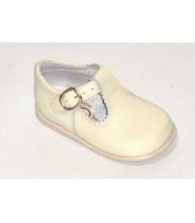 Zapato pepito charol beig