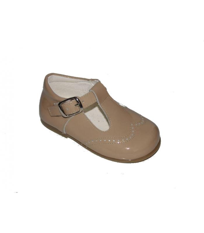 dba0be7c82e Zapato pepito charol camel - Zapatería Zapatones