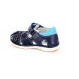 Sandalia piel azul marino Pablosky