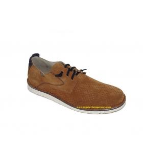 Zapato serraje cuero-azul marino