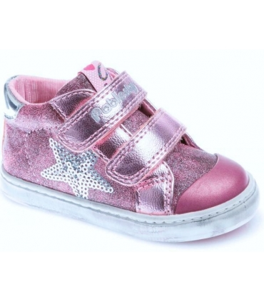 Bota glitter rosa Pablosky