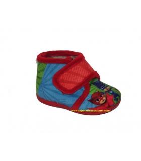 Zapatilla de casa rojo PJ MASKS