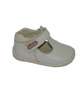 Zapato pepito piel beige