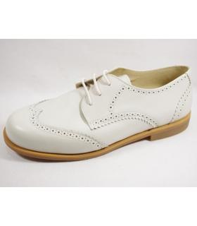 Zapato de vestir de niño beige